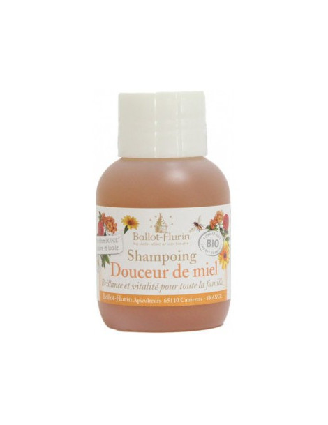 Shampoing douceur de miel 30% de miel Grand cru 50ml Ballot Flurin