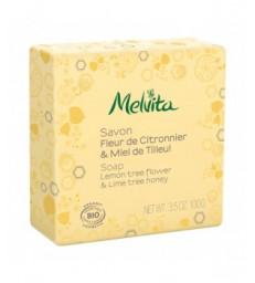 Savon Fleur de citronnier et miel de tilleul 100g Melvita