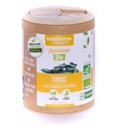 Spiruline Bio 200 comprimés Nat et Form