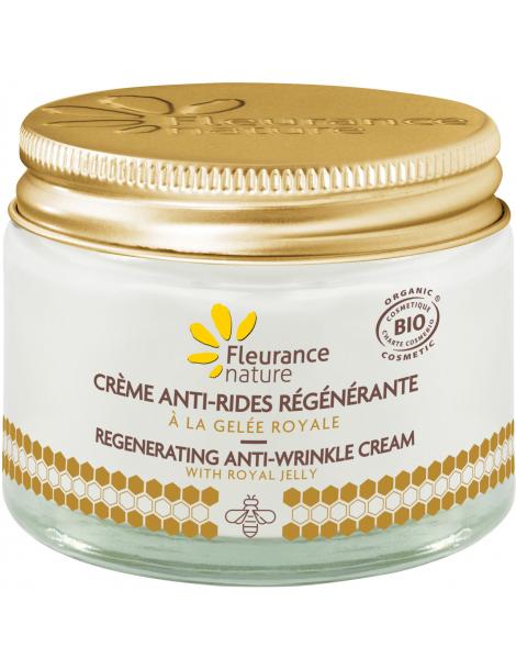 Crème antirides régénérante à la Gelée Royale Bio 50ml  Fleurance Nature