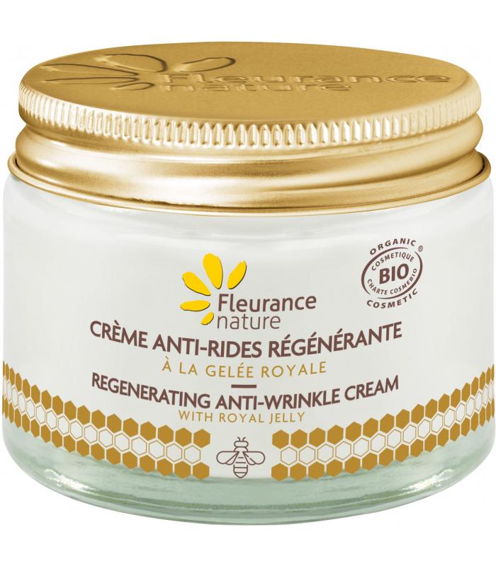 be19af8e9d6 Crème antirides régénérante à la Gelée Royale Bio 50ml Fleurance Nature