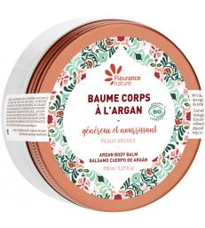 Baume pour le corps généreux nourrissant à l'argan bio 150ml Fleurance Nature