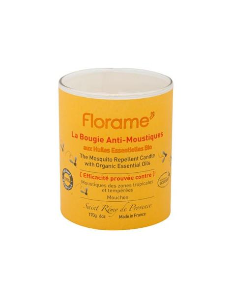 Bougie anti moustiques et mouches 170g Florame