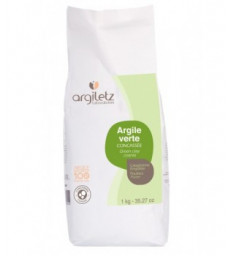 Argile Verte Concassée 1kg Argiletz