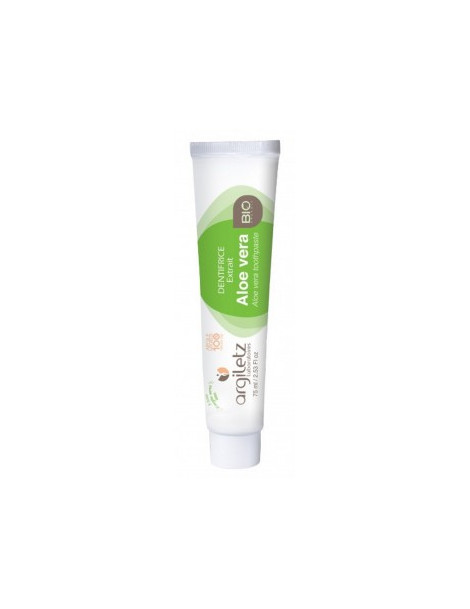 Dentifrice nature aloe vera BIO 75ml Argiletz