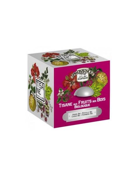 Tisane Be Cube Fruits des bois bio 24 sachets 60g boite métal Provence D Antan