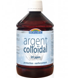 Argent Colloïdal Naturel 20 PPM 500 ml Biofloral
