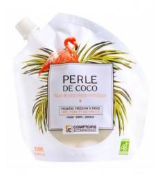 PERLE DE COCO Huile de coco vierge biologique 250ml Comptoirs et compagnies