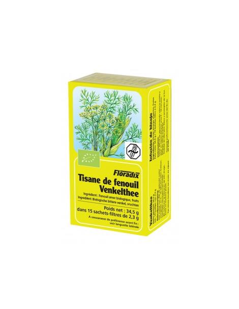 Tisane Bio fenouil 15 sachets