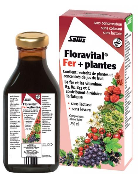 Floradix Floravital, Déficit en fer 250ml