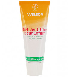 Gel dentifrice enfant dents de lait 50ml Weleda