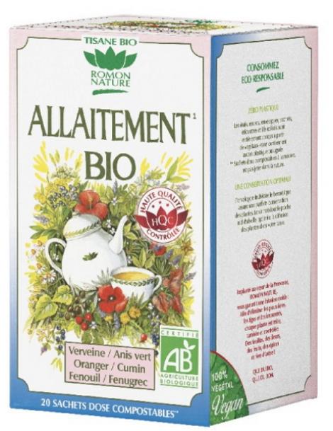 Tisane Allaitement 20 sachets 32g