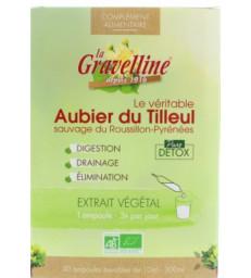 Aubier de Tilleul 30 ampoules bio La Gravelline
