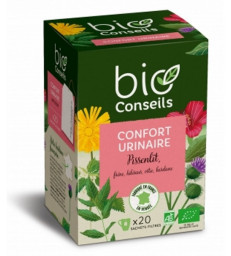 Infusion Confort Urinaire bio 20 sachets filtre Bio Conseils