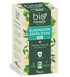 Infusion Élimination Rétention d'eau bio 20 sachets filtre Bio Conseils