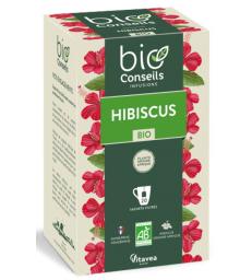 Infusion Hibiscus bio 20 sachets filtre Bio Conseils