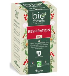 Infusion Respiratoire bio 20 sachets filtre Bio Conseils