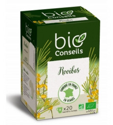 Infusions Rooibos bio 20 sachets filtre Bio Conseils