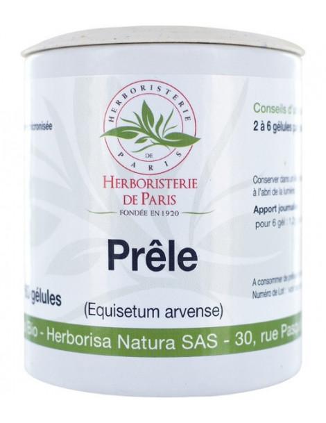 Prêle des champs bio 60 gélules de 200 mg Herboristerie de PARIS