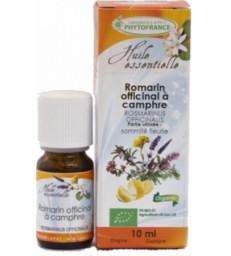 Huile essentielle de Romarin officinale à Camphre Bio 10 ml Phytofrance