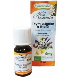 Thym vulgaire à linalol bio 10 ml Phytofrance