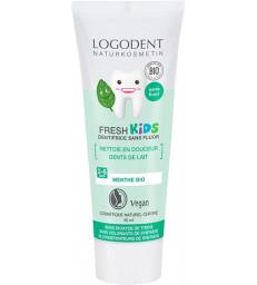 Dentifrice Kids enfants menthe douce 50 ml Logodent Logona