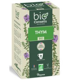 Infusion Thym bio 20 sachets filtres Bio Conseils
