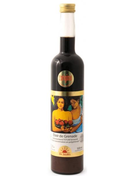 Elixir de Grenade Fermentée 500 ml Dr Jacob's Medicatrix Herboristerie de paris