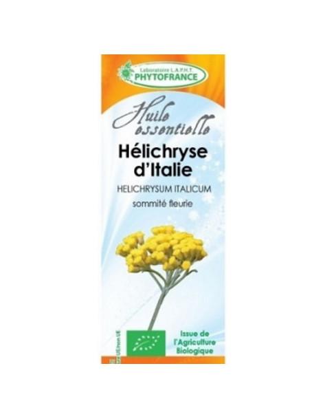 Huile essentielle HELICHRYSE ITALIENNE BIO 5ml phytofrance