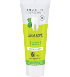 Daily Care dentifrice à la Menthe 75ml Logona