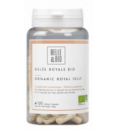 Gelée royale lyophilisée bio 120 gélules Belle et Bio