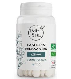 100 Pastilles Relaxation aux Huiles essentielles Belle et Bio