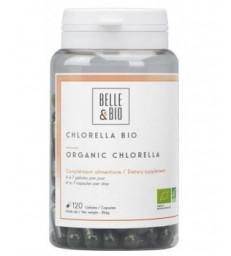 Chlorella Minuscule Algue d'eau douce 120 gélules Belle et Bio