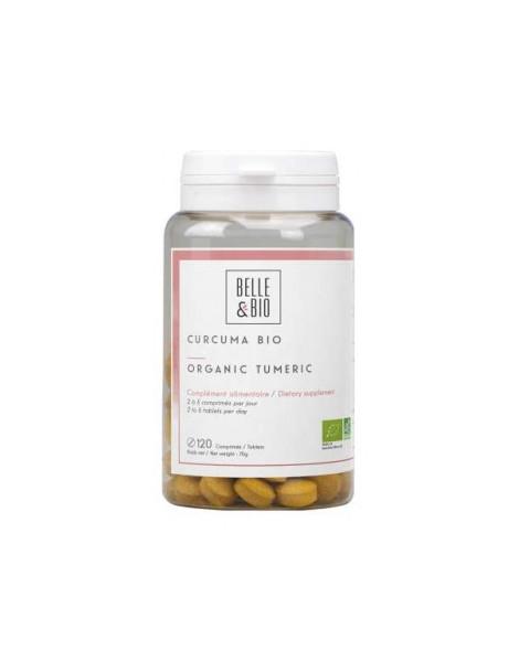 Curcuma piperine Bio 120 comprimés Belle et Bio Herboristerie de paris
