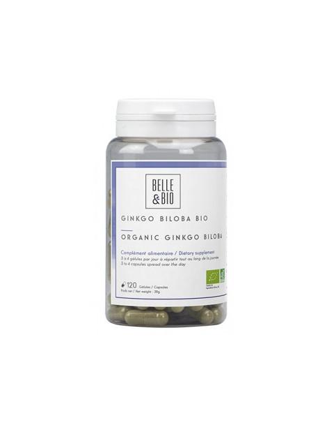 Ginkgo Biloba bio 120 gélules Belle et Bio