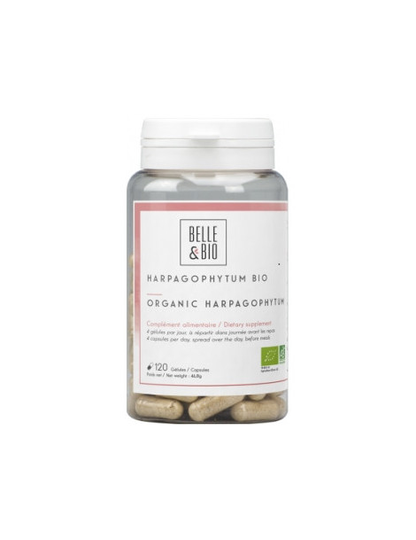 Harpagophytum Bio 120 gélules Belle et Bio