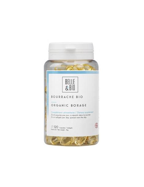 Huile de Bourrache bio 120 capsules Belle et Bio