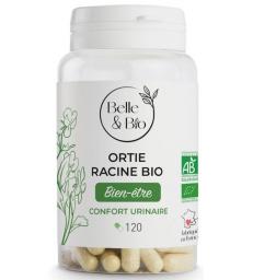 Ortie racine bio 120 gélules Belle et Bio