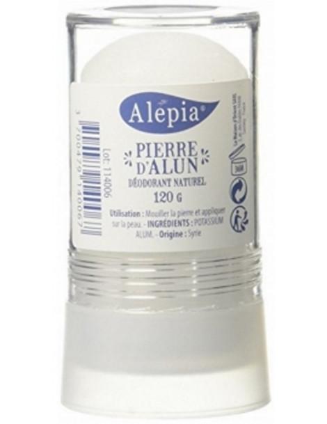 Pierre d'Alun Naturelle Stick 120 gr Alepia deodorant naturel Herboristerie de paris