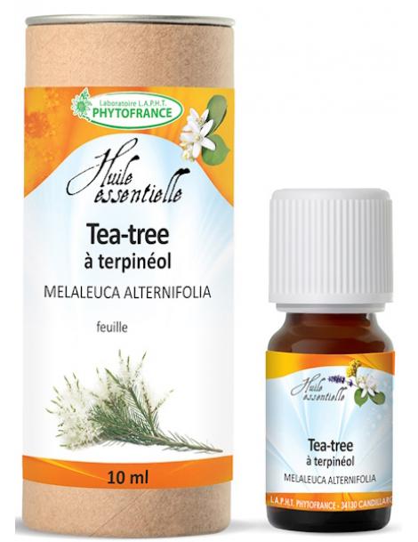 Huile essentielle de Tea-Tree (arbre à thé) bio 10ml Phytofrance