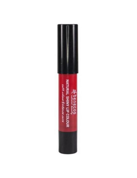 Baume Rouge à lèvres Silky Tulip 4gr Benecos stick lèvres maquillage bio Herboristerie de paris