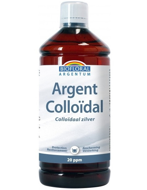 Argent Colloïdal Naturel 20 PPM 1L Biofloral