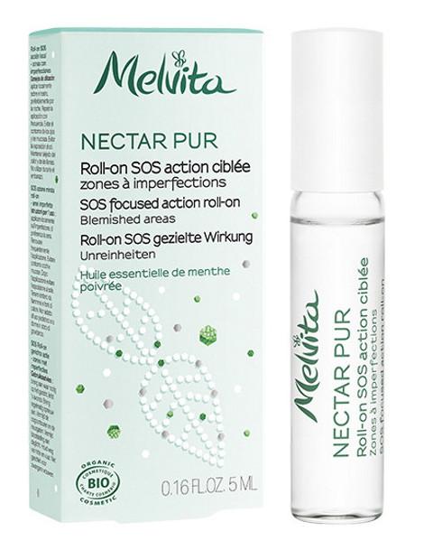 Roll on SOS action ciblée Nectar Pur 5 ml Melvita huiles essentielles Herboristerie de paris