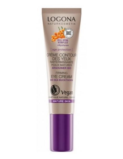 Age Protection crème contour des yeux raffermissante 15 ml Logona soin contour bio Herboristerie de paris