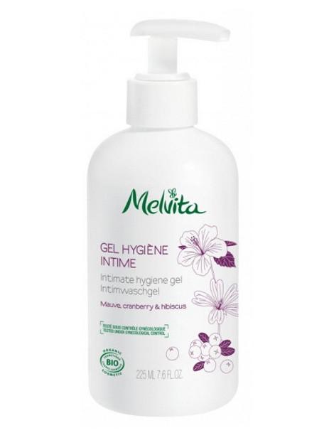 Gel hygiène intime Mauve Cranberry Hibiscus 225 ml Melvita Herboristerie de paris