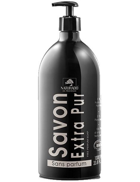 Naturado Savon liquide neutre 1 litre huile de coco Herboristerie de paris