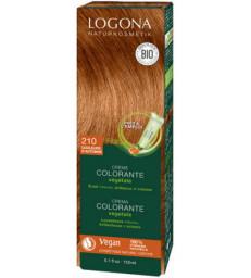 Crème colorante Couleurs d'Automne 210 cheveux chatains 150 ml Logona