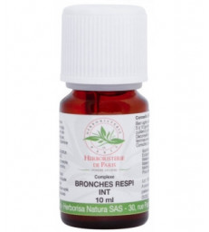 Complexe d'huiles essentielles Respi B 10ml Herboristerie de Paris