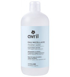 Lotion micellaire Aloe Vera Ginkgo 500 ml Avril Beauté