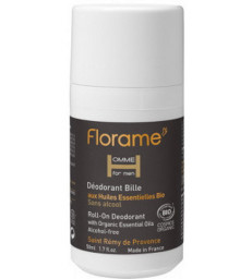 Déodorant bille roll on Homme 50 ml Florame